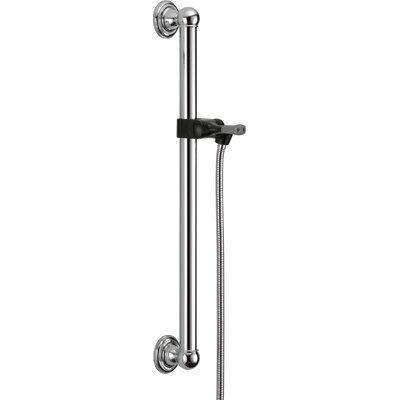 Universal Showering Components Adjustable Grab Bar Finish: Chrome