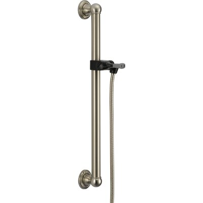 Universal Showering Components Adjustable Grab Bar Finish: Brilliance Stainless