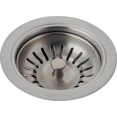 Kitchen Sink Flange and Basket Strainer Stopper Flange Finish: Brilliance Stainless
