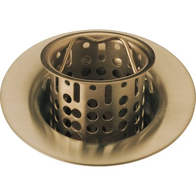 Bar Prep Sink Flange and Basket Strainer Stopper Flange Finish: Brilliance Champagne Bronze
