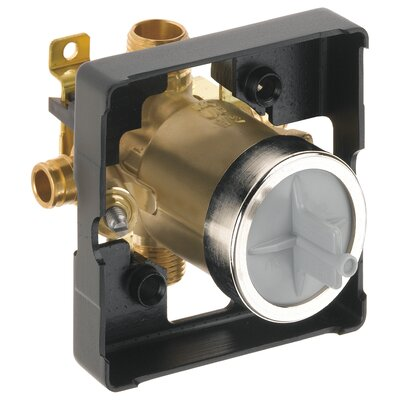Classic Universal Tub and Shower Cold Expansion Pex Valve Body with Stop