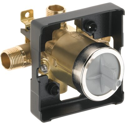 MultiChoice Universal High-Flow Rough-in Valve and Shower Only - Universal Inlets / Outlets