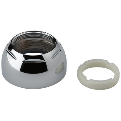 Replacement Cap Assembly with Adjustable Ring Finish: Chrome