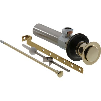 Replacement Part for Pop-up Bathroom Sink Drain Finish: Brilliance Polished Brass