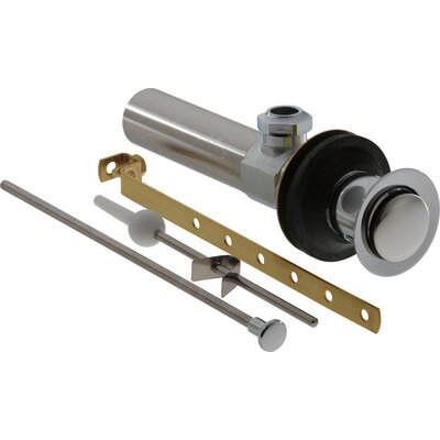 Replacement Part for Pop-up Bathroom Sink Drain Finish: Chrome & Polished Brass
