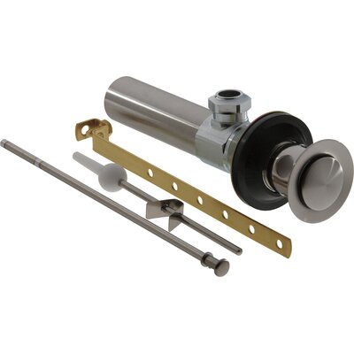 Replacement Part for Pop-up Bathroom Sink Drain Finish: Brilliance Stainless