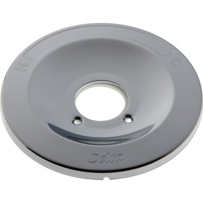 Plate Eschuton for Shower Faucet Finish: Chrome