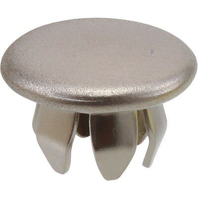 Button Plug for Bathroom Faucet Escutcheons Finish: Brilliance Stainless