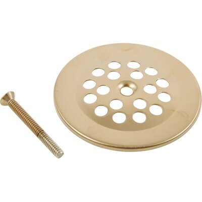 Replacement Dome Grid Shower Drain Finish: Brilliance Champagne Bronze