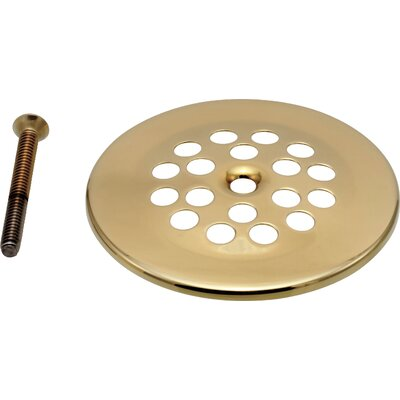 Replacement Dome Grid Shower Drain Finish: Brilliance Polished Brass