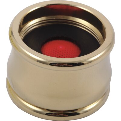 Neo Style Replacement Aerator Finish: Brilliance Polished Brass