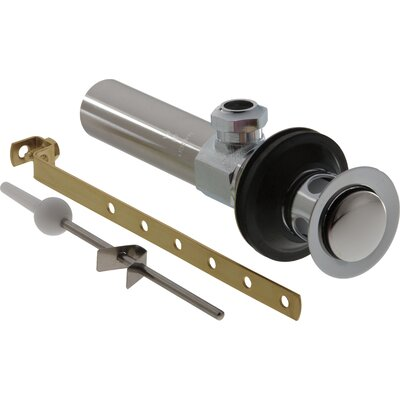 Replacement Pop Up Bathroom Sink Drain Finish: Chrome