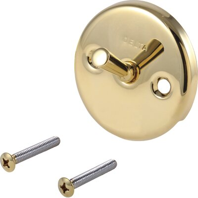 Classic Overflow Plate and Screw with Trip Lever Finish: Brilliance Polished Brass