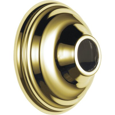 Victorian Arm Flange Shower Faucet Finish: Brilliance Polished Brass