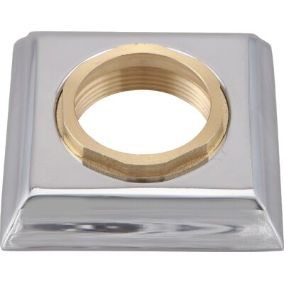 Dryden Handle Base with Gasket and Set Screw Finish: Chrome