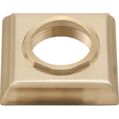 Dryden Handle Base with Gasket and Set Screw Finish: Brilliance Champagne Bronze