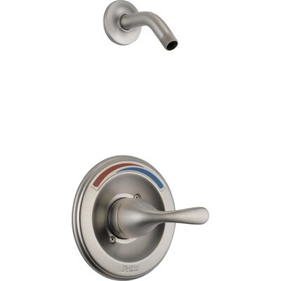 Other Core Pressure Balanced Shower Trim with Metal Lever Handle Finish: Brilliance Stainless
