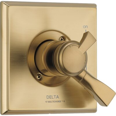 Dryden Monitor Pressure Balance Valve Trim with Volume Control Finish: Brilliance Champagne Bronze