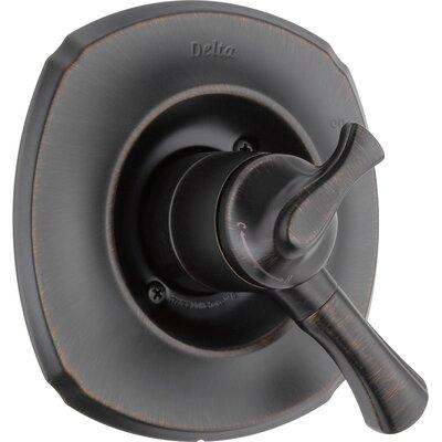 Addison Diverter Shower Faucet Trim with Lever Handles Finish: Venetian Bronze