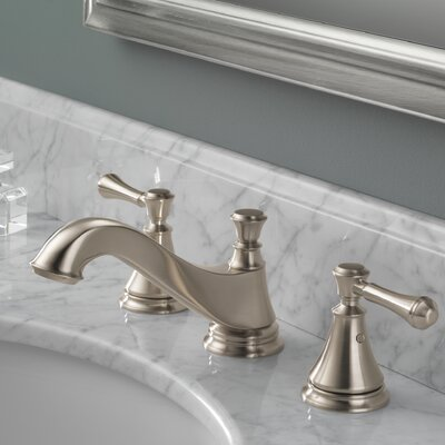Cassidy Double Handle Widespread Bathroom Faucet Finish: Brilliance Stainless