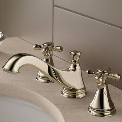 Cassidy Double Handle Widespread Bathroom Faucet Finish: Brilliance Polished Nickel