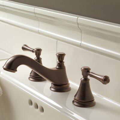 Cassidy Double Handle Widespread Bathroom Faucet Finish: Venetian Bronze
