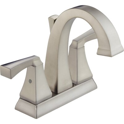 Dryden? Centerset Double Handle Bathroom Faucet and Diamond Seal Technology Finish: SPOTSHIELD STAINLESS