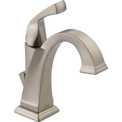 Dryden? Single hole Single Handle Bathroom Faucet with Drain Assembly and Diamond Seal Technology Finish: SPOTSHIELD STAINLESS