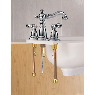 Victorian Standard Bathroom Faucet Lever Finish: Brilliance Stainless