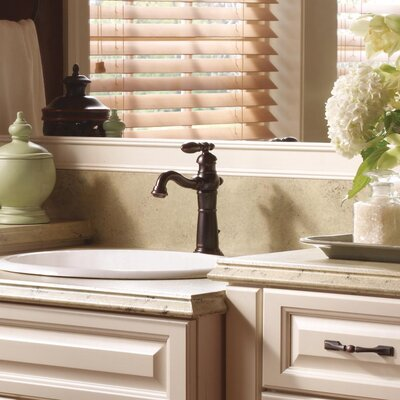 Victorian Single Hole Bathroom Faucet Finish: Venetian Bronze