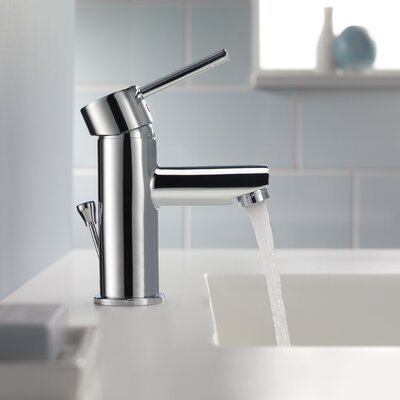 Trinsic� Bathroom Single Handle Single Hole Bathroom Faucet Finish: Chrome