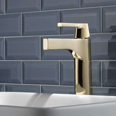 Zura Single Handle Vessel Bathroom Faucet Finish: Polished Nickel