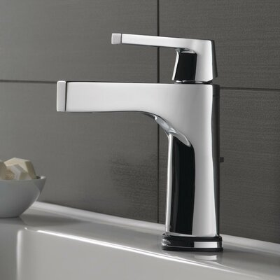 Zura Single Handle Centerset Bathroom Faucet with Drain Assembly Finish: Chrome