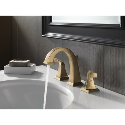 Dryden Widespread Bathroom Faucet with Double Lever Handles Finish: Brilliance Champagne Bronze