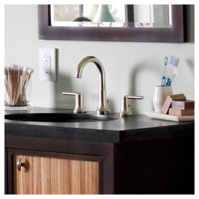 Trinsic Bathroom Standard Faucet Lever Handle Bathroom Faucet with Drain Assembly Finish: Brilliance Stainless