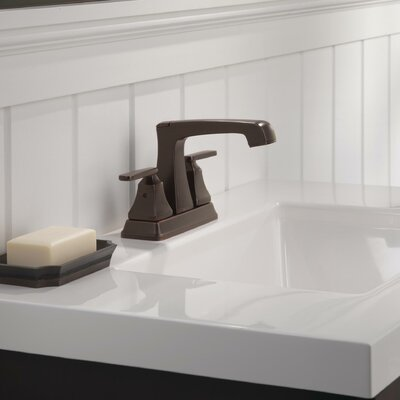Ashlyn Standard Bathroom Faucet Lever Handle with Drain Assembly Finish: Venetian Bronze