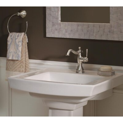 Cassidy� Single Handle Centerset Bathroom Faucet Finish: Brilliance Stainless