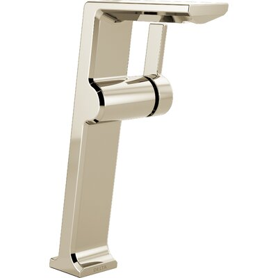 Pivotal Vessel Single Handle Bathroom Faucet Finish: Polished Nickel