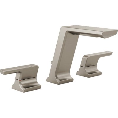 Pivotal WidespreadDouble Handle Bathroom Faucet Finish: Stainless Steel