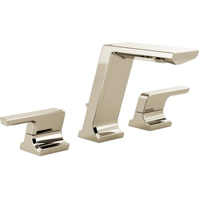 Pivotal WidespreadDouble Handle Bathroom Faucet Finish: Polished Nickel