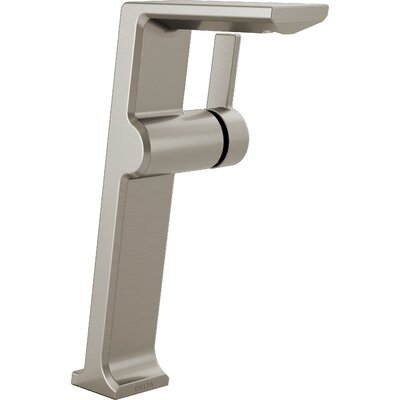 Pivotal Vessel Single Handle Bathroom Faucet Finish: Stainless Steel