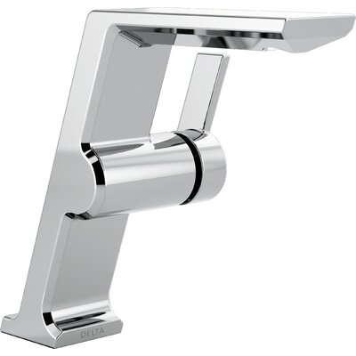Pivotal Mid Height Vessel Single Handle Bathroom Faucet Finish: Chrome