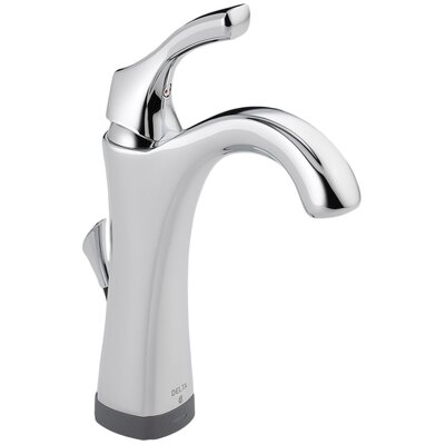 Addison? Single hole Single Handle Bathroom Faucet with Drain Assembly and Diamond Seal Technology Finish: Chrome