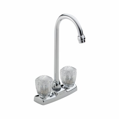 Classic Double Handle Centerset Bar Faucet