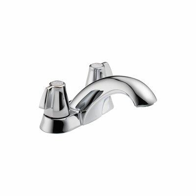 Classic Double Handle Centerset Bathroom Faucet