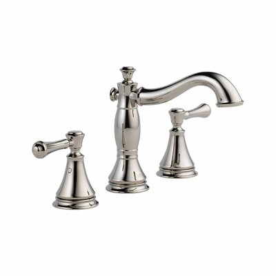 Cassidy� Deck Mount Bathroom Faucet with Drain Assembly Finish: Brilliance Polished Nickel