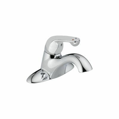 Delta Single handles Centerset Standard Bathroom Faucet with Diamond Seal Technology