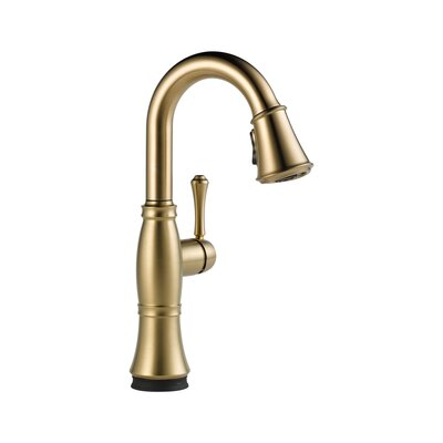 Cassidy Touchless Single Handle Bar Faucet Finish: Brilliance Champagne Bronze
