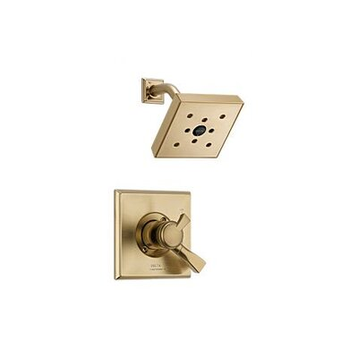 Dryden Pressure Balance Shower Faucet Trim Finish: Brilliance Champagne Bronze