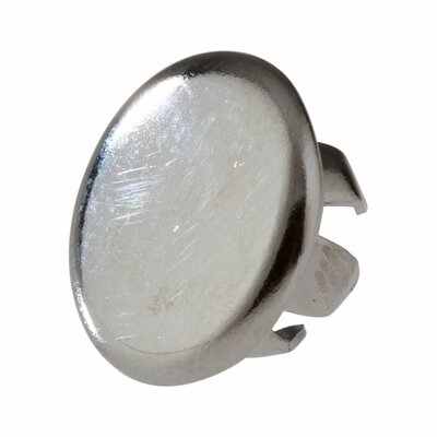 Button Plug for Bathroom Faucet Escutcheons Finish: Chrome